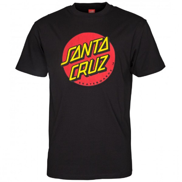 35105 - Santa Cruz T-Shirt Classic Dot - black