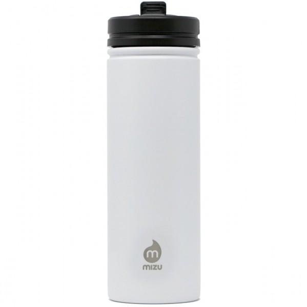 36639 - Mizu Flasche M9 - Enduro White LE w Straw Lid