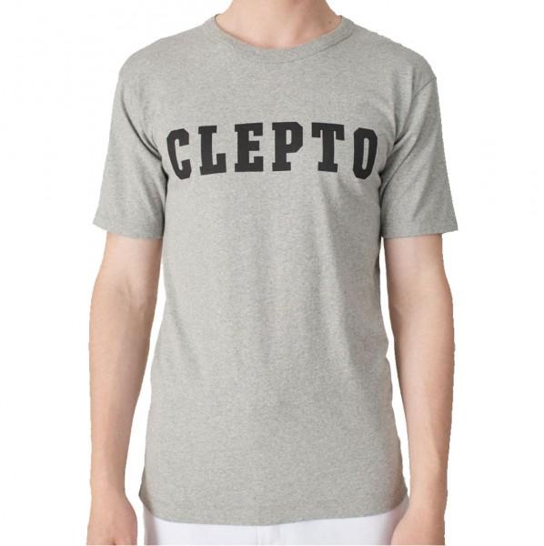 34200 - Cleptomanicx T-Shirt College - Heather Gray