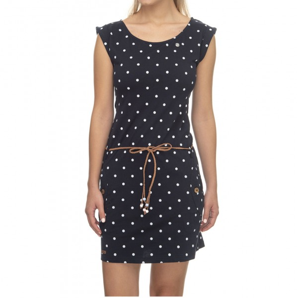 37252 - Ragwear Kleid Tag Dots - navy