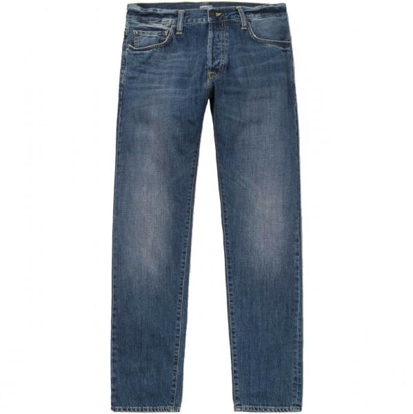 34366 - Carhartt WIP Jeans Klondike - blue dark coast washed 1