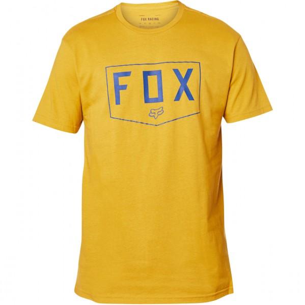 38658 - Fox T-Shirt Shield - mustard
