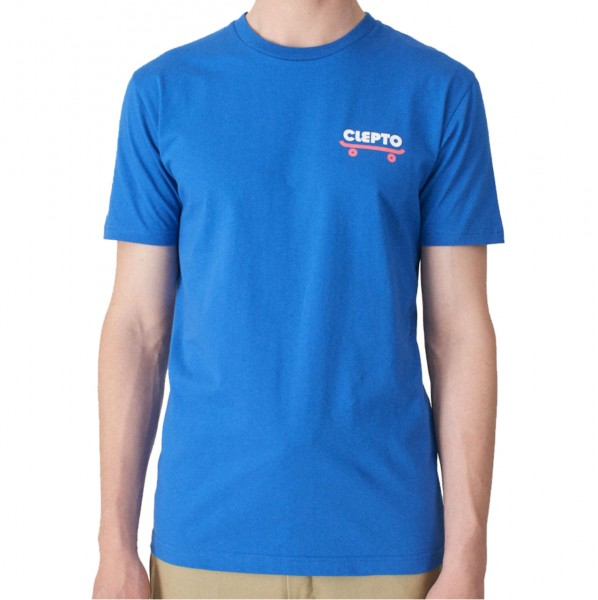 34198 - Cleptomanicx T-Shirt Clepto Good - Nautical Blue