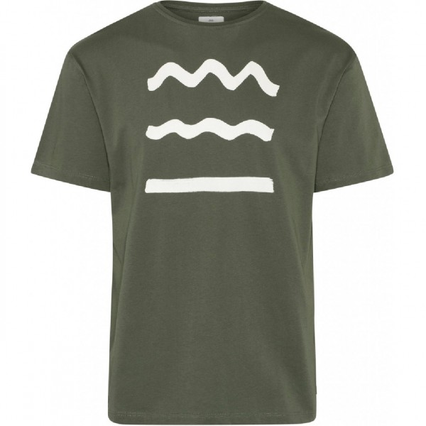 35024 - Klitmöller Collective T-Shirt Rising Wave - olive