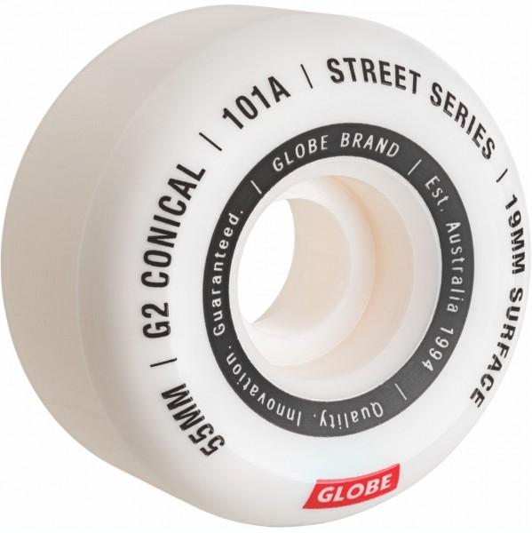 38000 - Globe Skate-Wheels G2 Conical - White/Essential