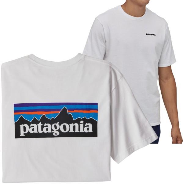 38627 - Patagonia T-Shirt P6 Logo Responsibili - White