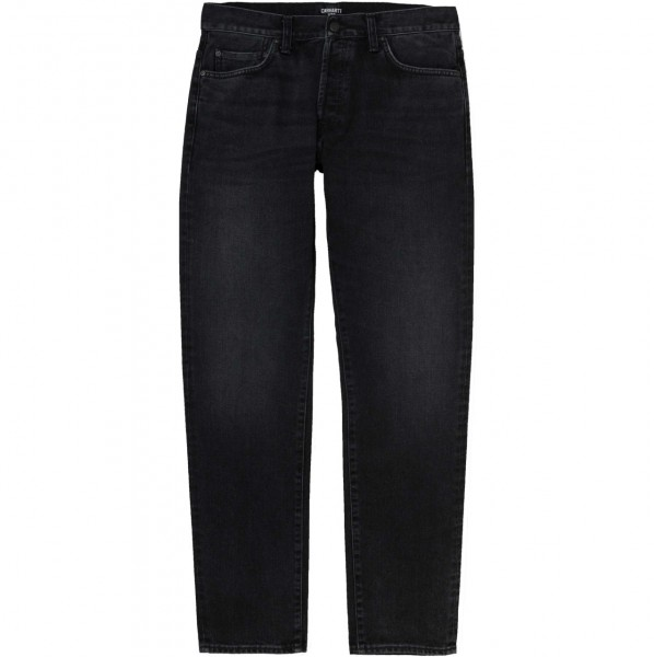 35602 - Carhartt WIP Jeans Klondike - Black mid worn wash