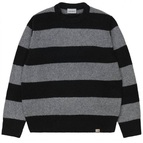 38268 - Carhartt WIP Pulli Alvin Sweater - Dark Grey Heather