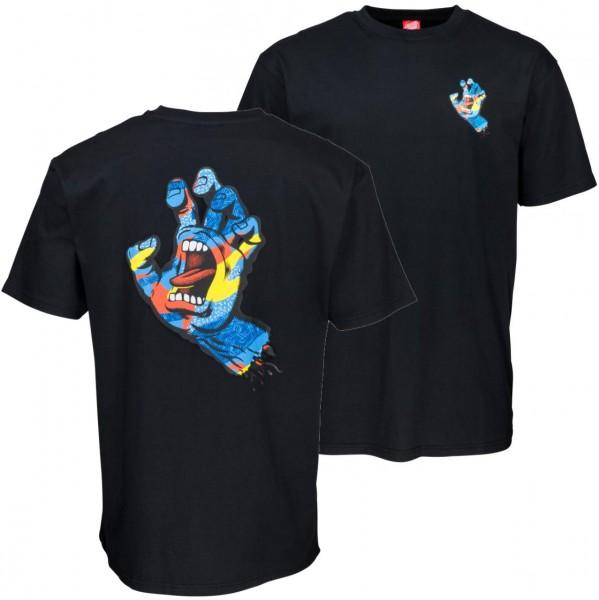 37739 - Santa Cruz T-Shirt Primary Hand - Black