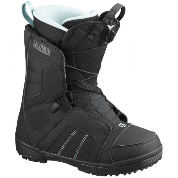 36422 - Salomon Snowboard-Boot Scarlet - Black