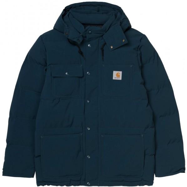 35612 - Carhartt WIP Jacke Alpine Coat - Duck Blue/Black
