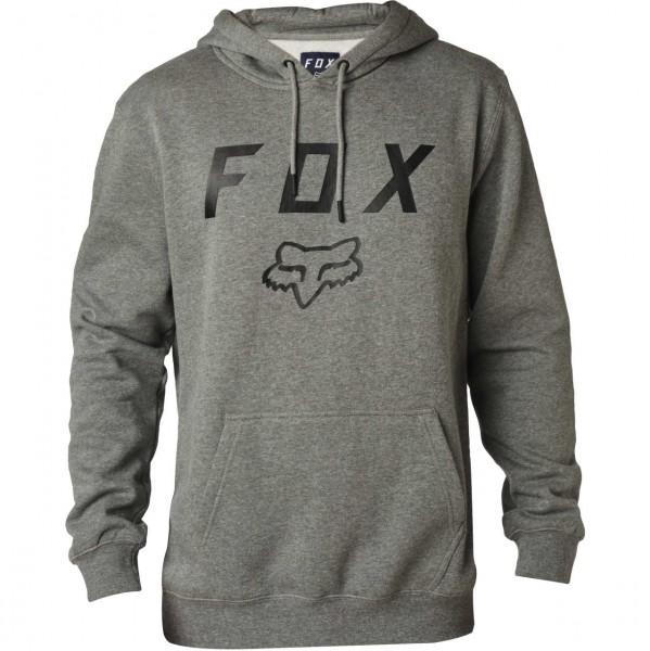 38645 - Fox Hoody Legacy Moth - heather graphite