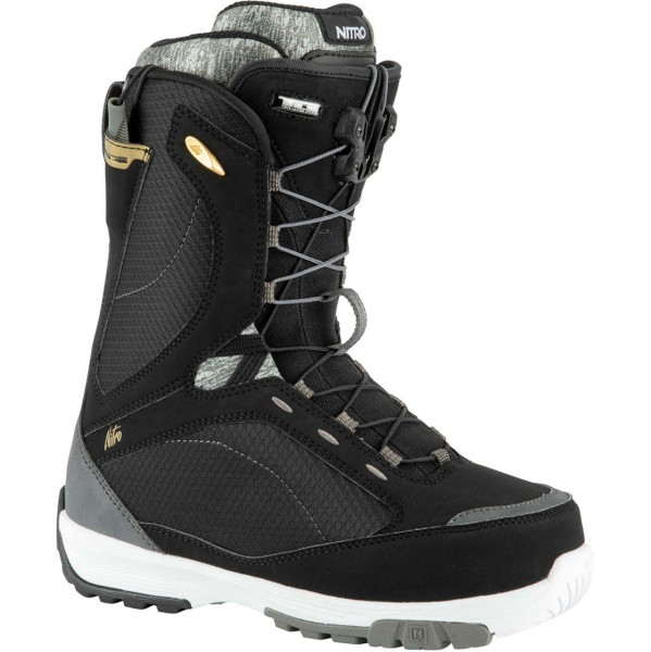 38893 - Nitro Snowboard-Boots Monarch TLS - black-white