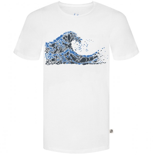 34638 - Bleed T-Shirt Plastic Wave - white