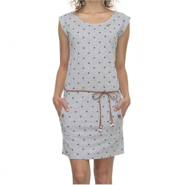 37253 - Ragwear Kleid Tag Dots - light grey