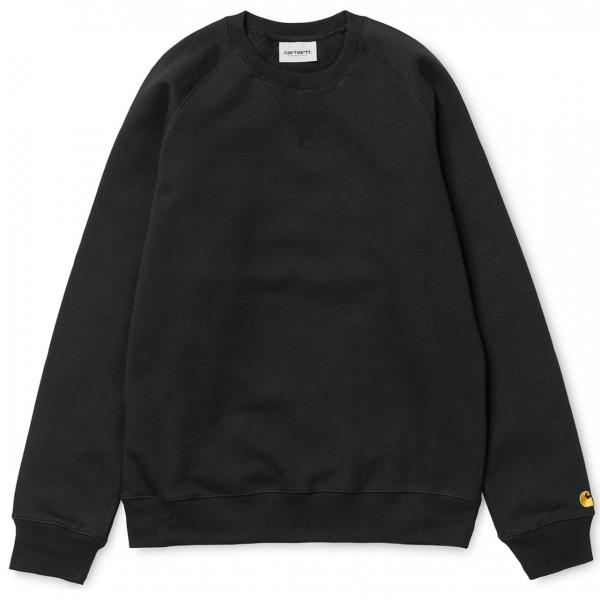 39338 - Carhartt WIP Sweat-Shirt Chase - Black/Gold