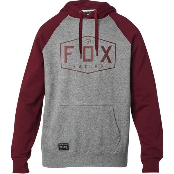 38663 - Fox Hoody Crest - heather graphite