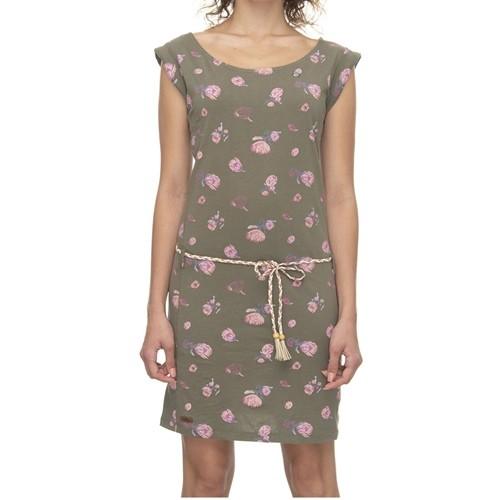 37251 - Ragwear Kleid Tamy Flowers - olive