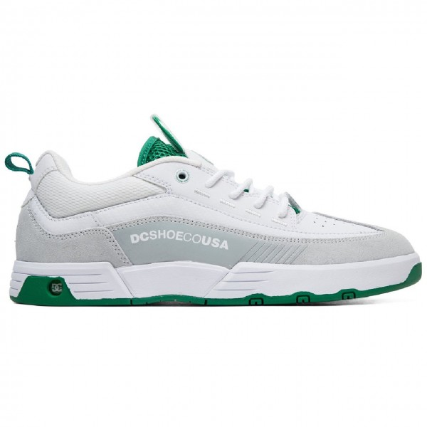 34839 - DC Sneaker Legacy 98 Slim - White/White/Green 1