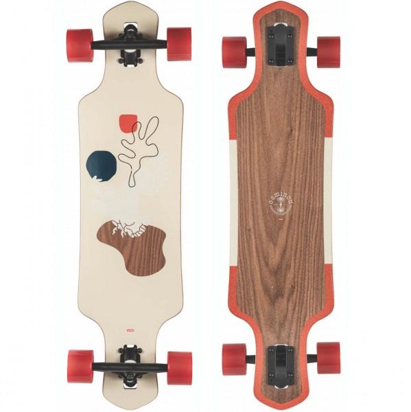 39389 - Globe Longboard Geminon 35 Walnut/Cockatoo