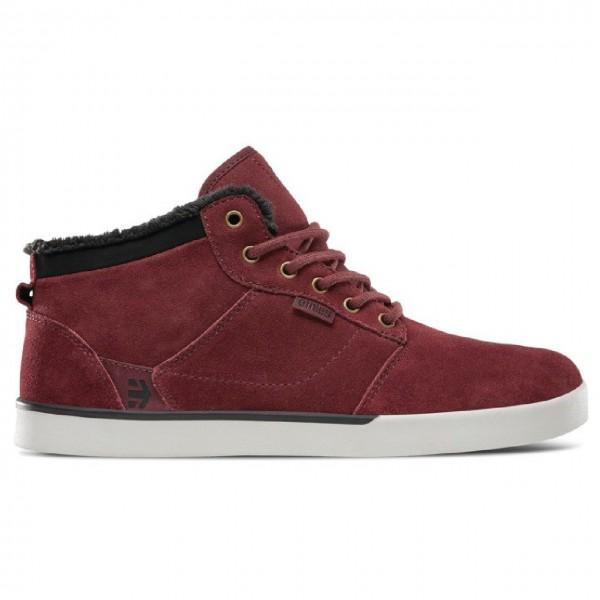 33438 - Etnies Sneaker Jefferson Mid - burgundy/gold